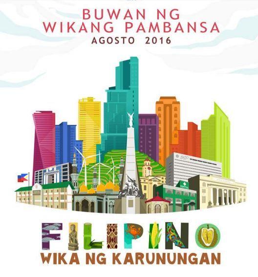 Official poster for buwan ng wika 2016 buwan ng wika official poster for buwan ng wika 2016 yelopaper Images