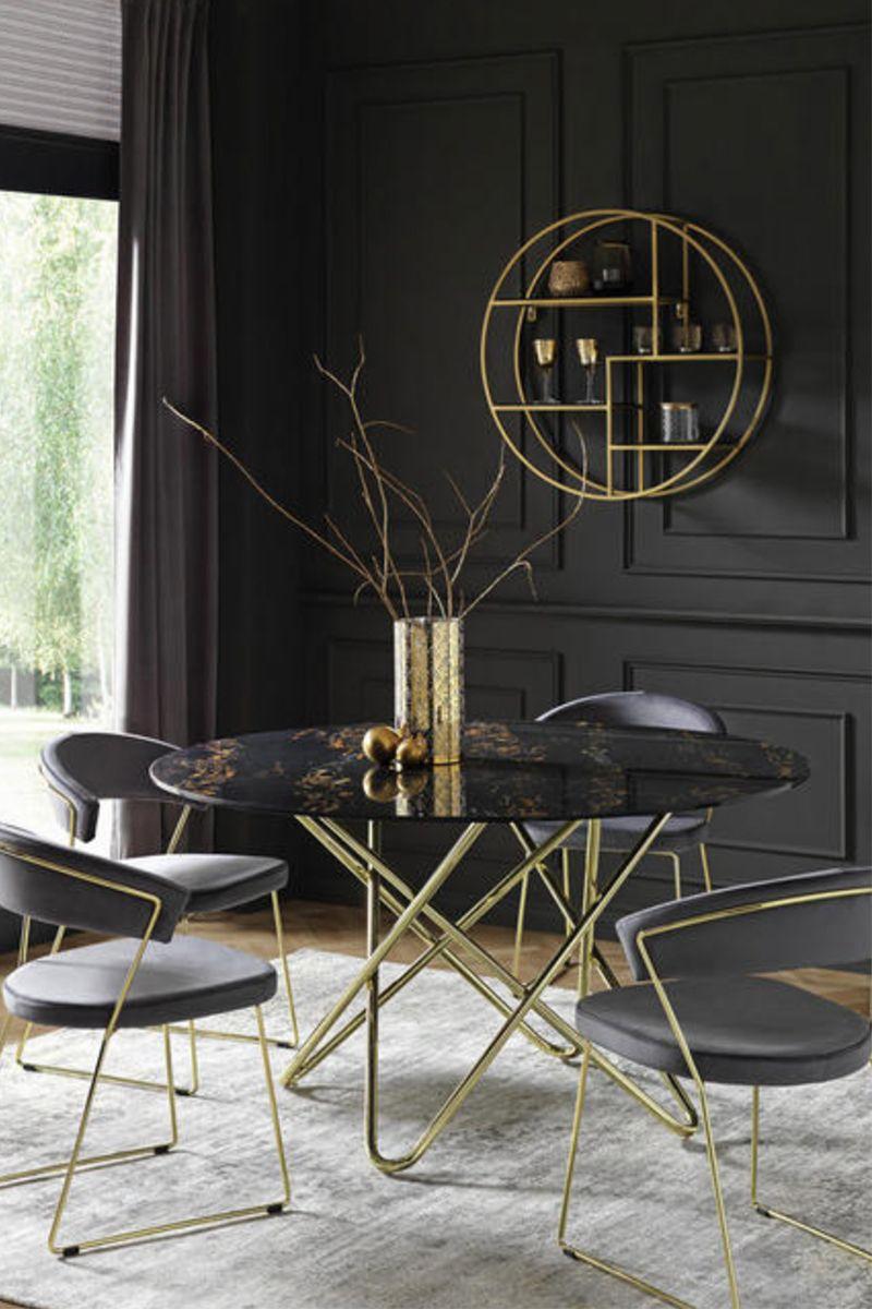 Esstisch Rund Mit Keramik In Schwarz Bestellen Esstisch Tischplatte Rund Marmortisch