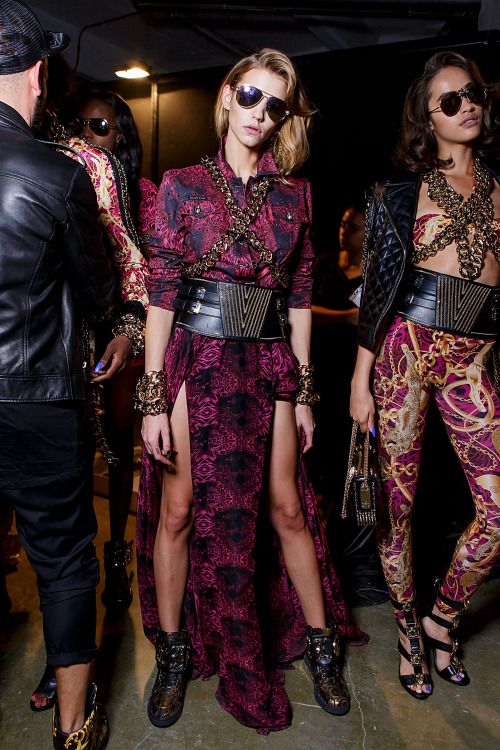 Backstage at Philipp Plein - Milan Fashion  Week - Spring 2017
