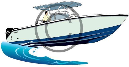 center console boat vector illustration clipart http www rh pinterest com