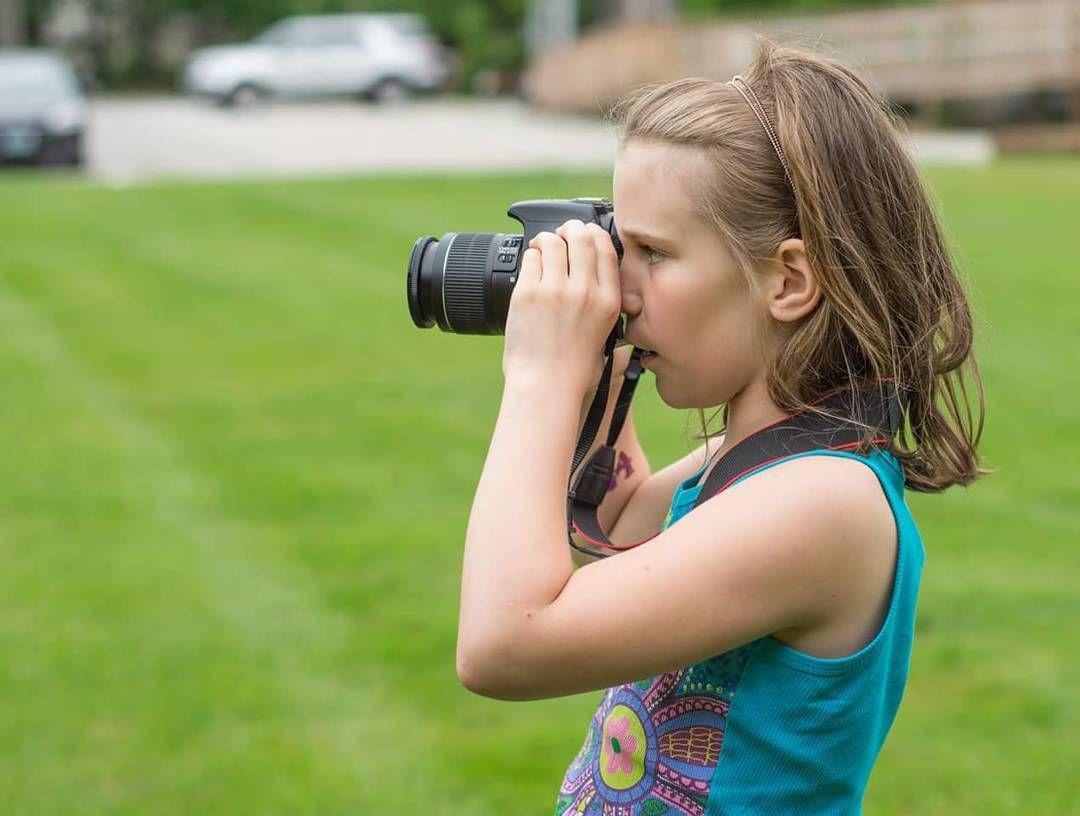 From model to photographer #kidsphotography #girlpower #icandoit #photographyisart #photography