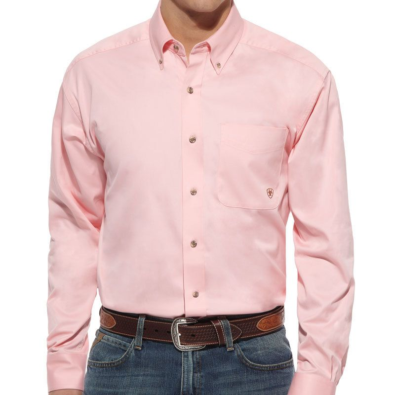 Solid Pink Shirt Custom Shirt