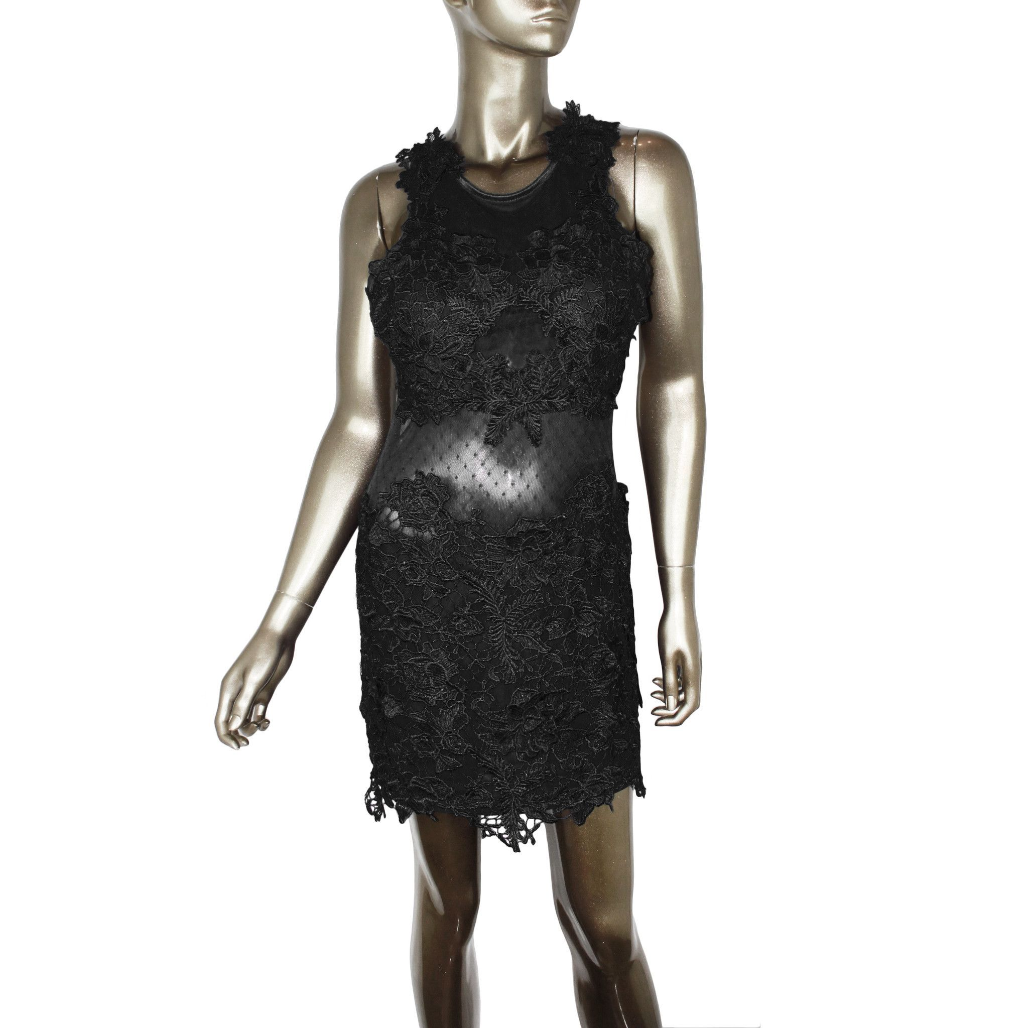 Vasco Rossi Floral Lace Dress