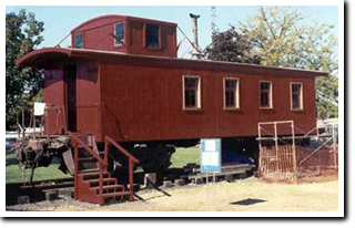 These are not real cabooses, but look alike kits, perfect ... on train car house plans, railroad car home, passenger car house plans, freight car house plans,