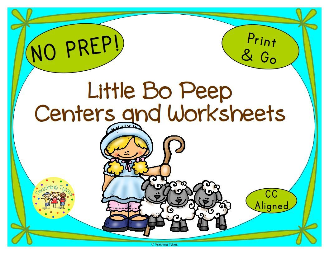 Little Bo Peep Activities