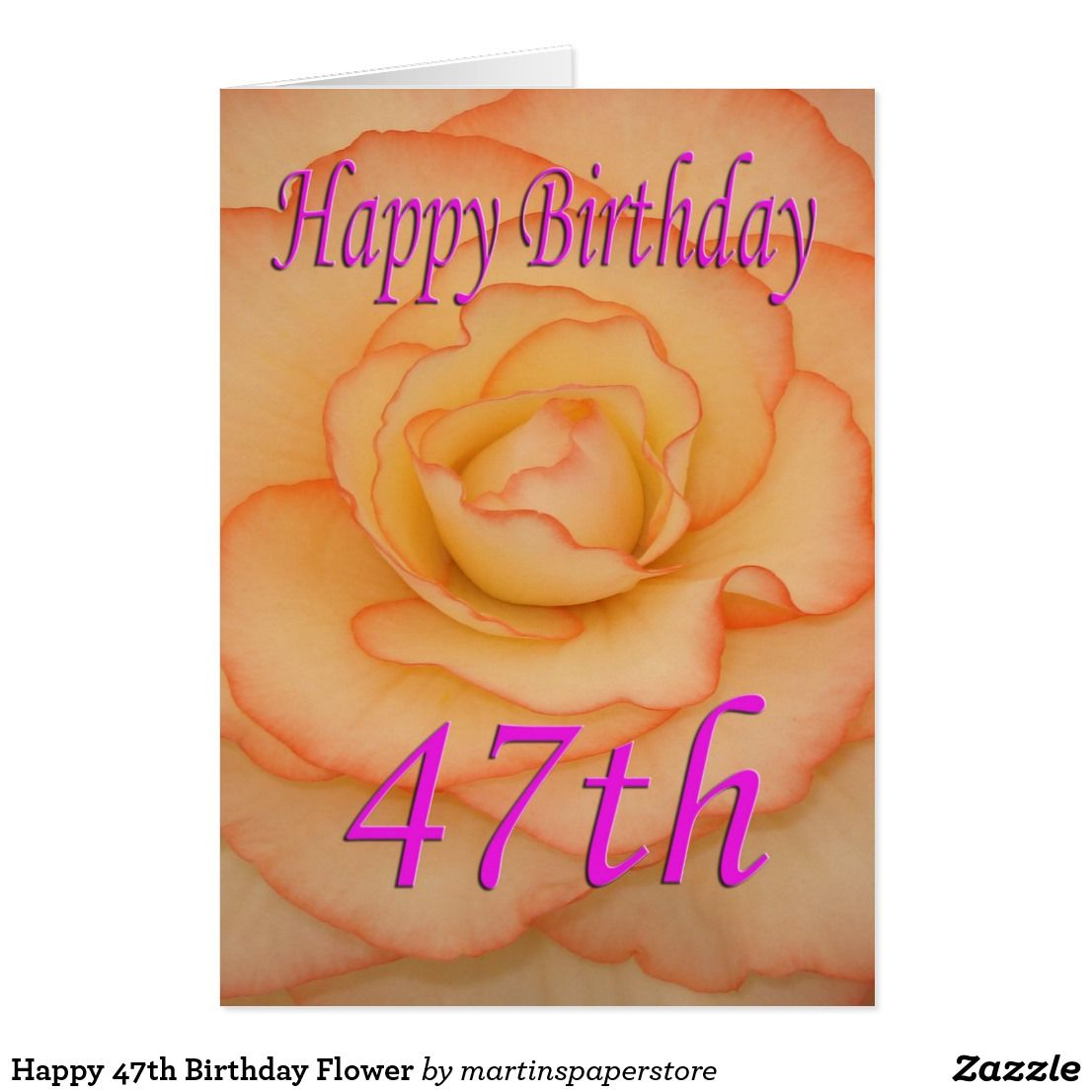 Happy th birthday flower card flower cards flower and cards