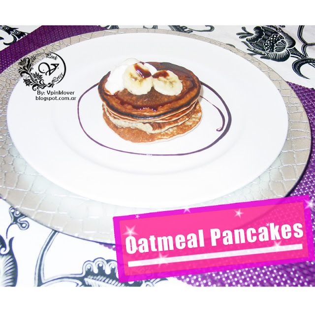 Healthy Recipes: PANCAKES DE AVENA Y BANANA CON CLARAS: