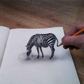 New 3D Pencil Drawings By Ramon Bruin | 3D Street Art/Drawings ...