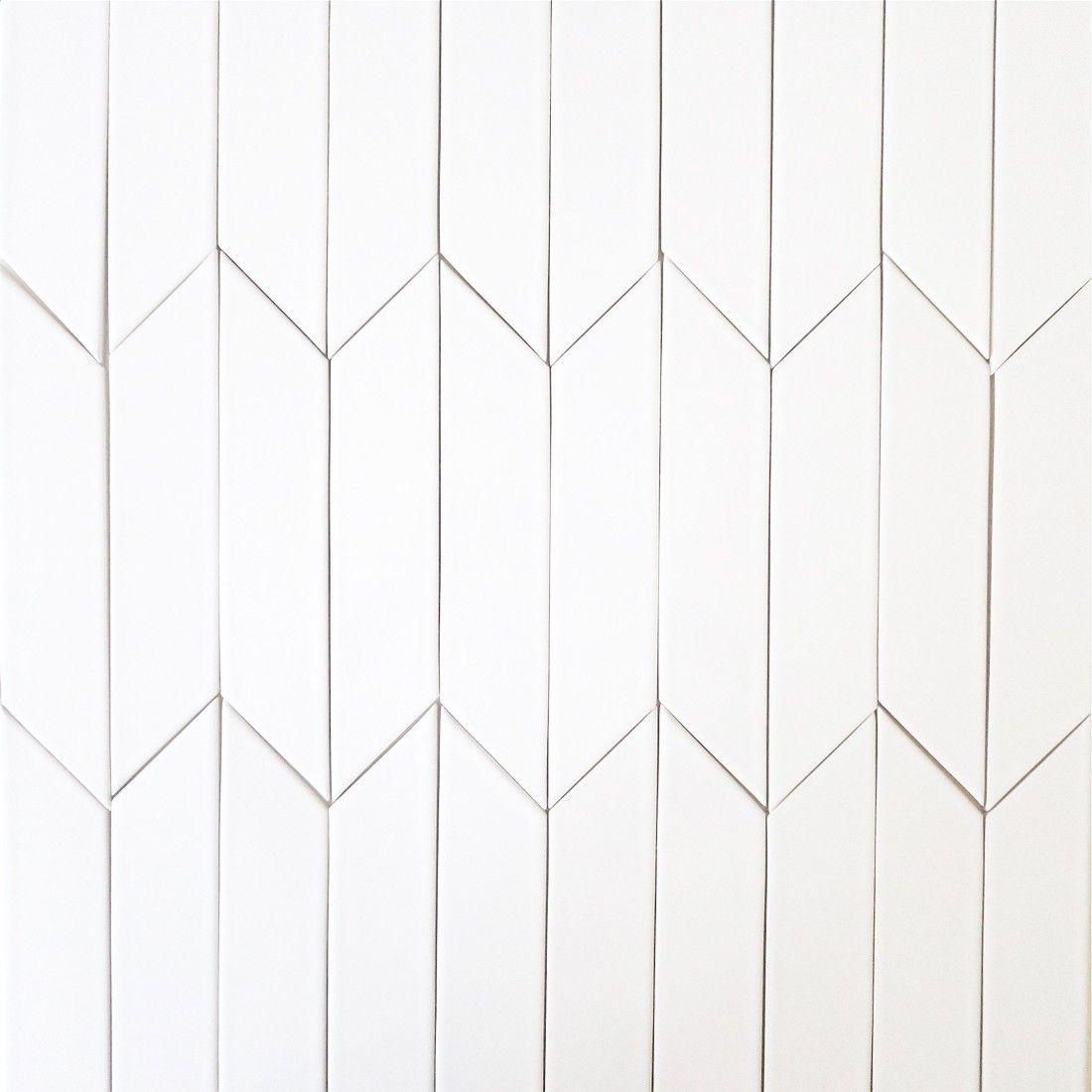Chevron tile 2x8 milk 1401052 sports office db pinterest backsplash kiln ceramic chevron subway tile white milk vertical close up headboard dailygadgetfo Images