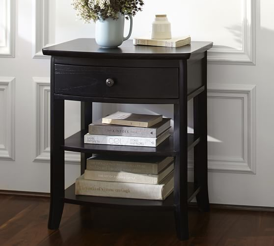 Chloe Nightstand Bedside Table Furniture For Small Spaces
