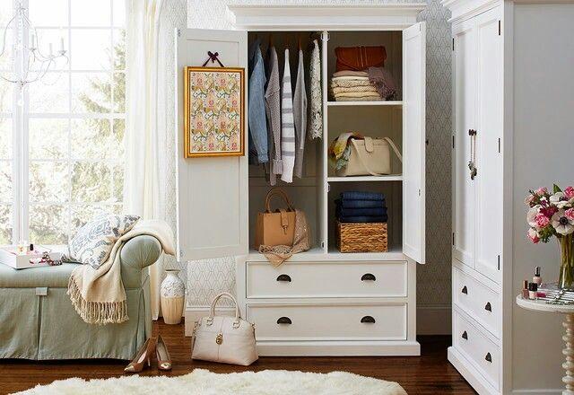 Idea for child's closet