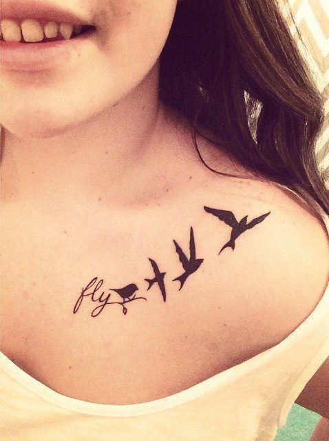 Frase Fly Y Aves Lindas Ideas Pinterest Tattoos Tattoo