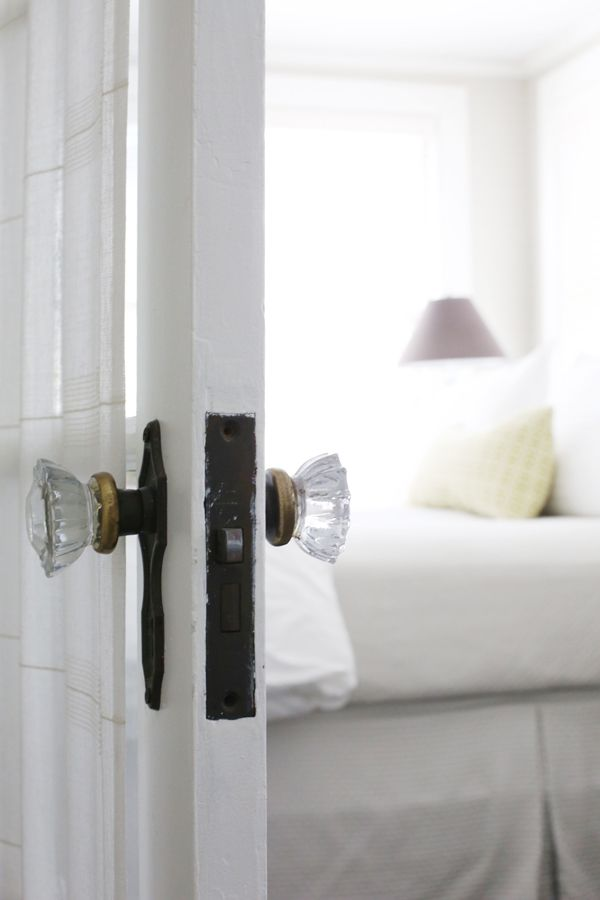 vintage glass door knobs. | Vintage Industrial Glam | Pinterest ...