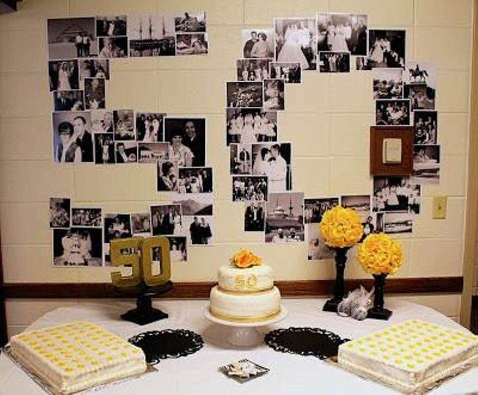 Nice 50th Anniversary Decoration Ideas 10 50th Wedding
