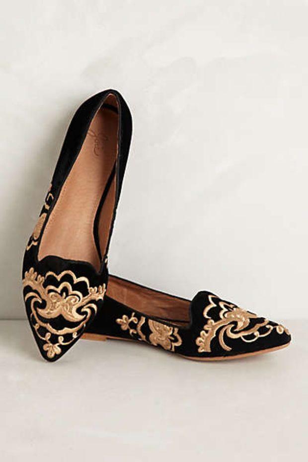 Sabina Velvet Loafers