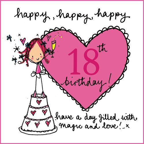 18th Birthday Card - Google Zoeken