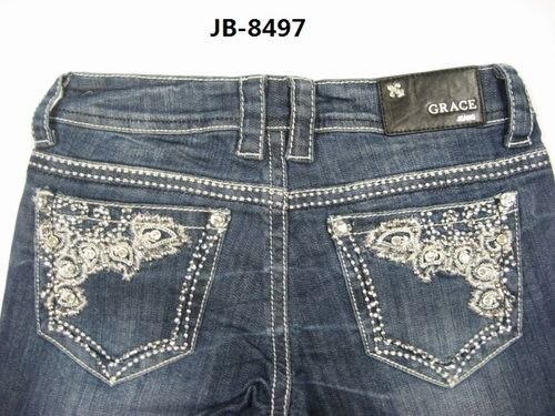 d044d8bb249 Grace in LA Bling Jeans