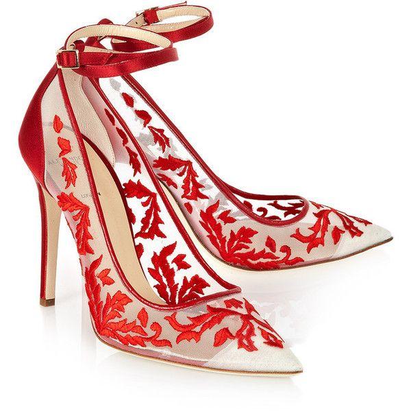 Mesh heels, Pumps heels stilettos