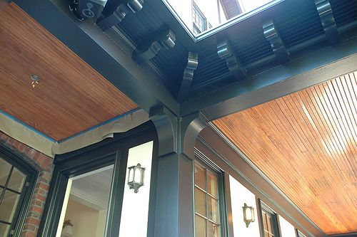 Painted Soffits