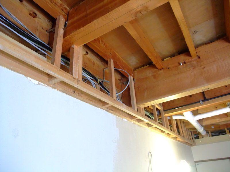 ふかし壁を作る 99 Diy Diyブログ 壁 配管 作る