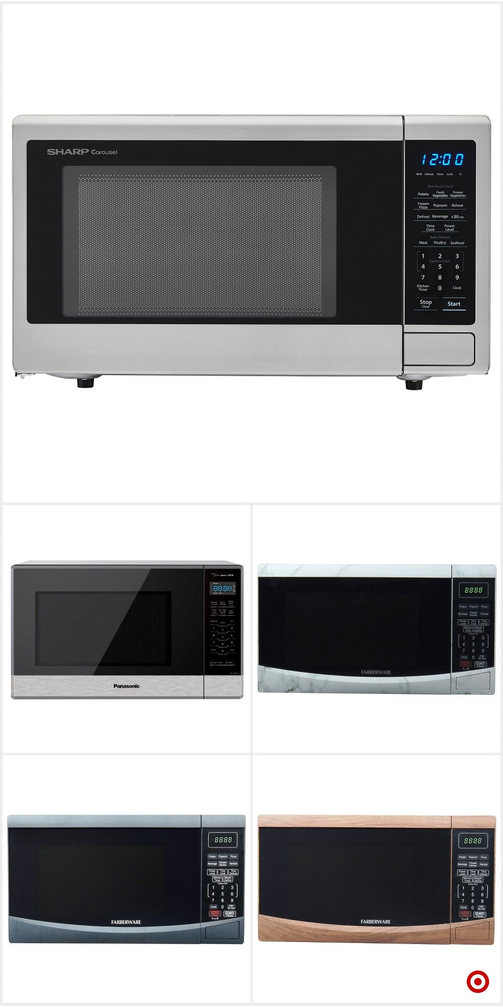 Target For Microwave Ovens You Will Love At Great Low