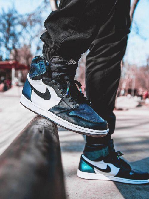 2017 Nike Air Jordan 1 Nike Retro High Og Royal Blue Nike Air Jordan 1 Retro High Og All Star Chameleon 2017 By Sneakers Air Jordans Trendy Sneakers