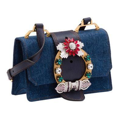 575acbcf25b MIU MIU Shoulder Bag.  miumiu  bags  lining  denim  shoulder bags ...