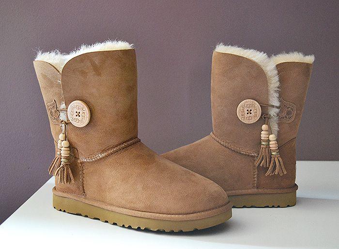 Ugg Bailey Charms Light Brown Ugg Boots Ugg Boots Cheap