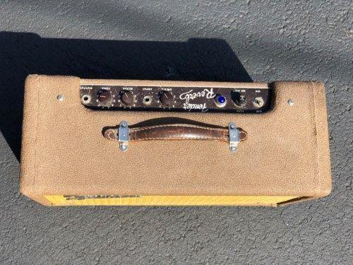 1961 Fender Reverb Unit #vintageguitars 1961 Fender Reverb Unit Brown > Effects | Dayton Vintage Guitars And Amps #vintageguitars