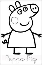 Grafomotricidad Mickey Mouse Buscar Con Google Peppa Pig Colouring Peppa Pig Coloring Pages Peppa Pig Birthday Party
