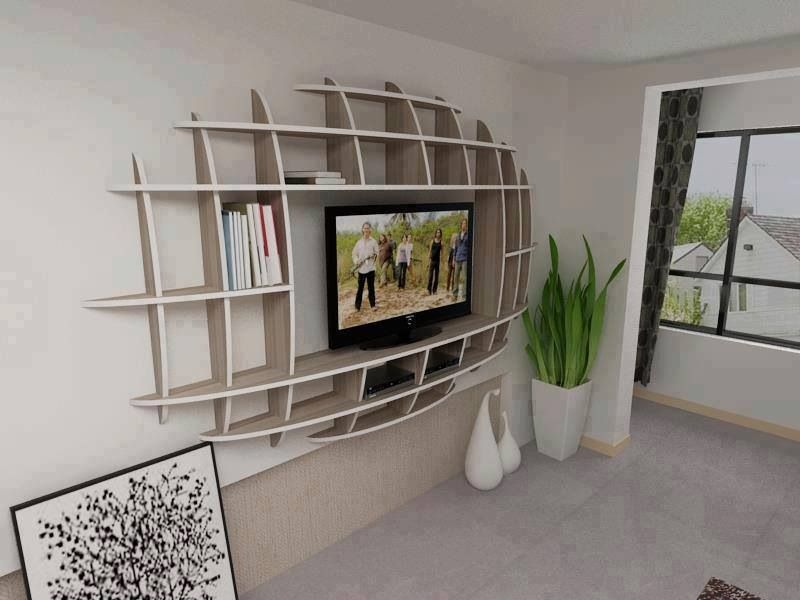 Wonderful Interesting Entertainment Center Idea!