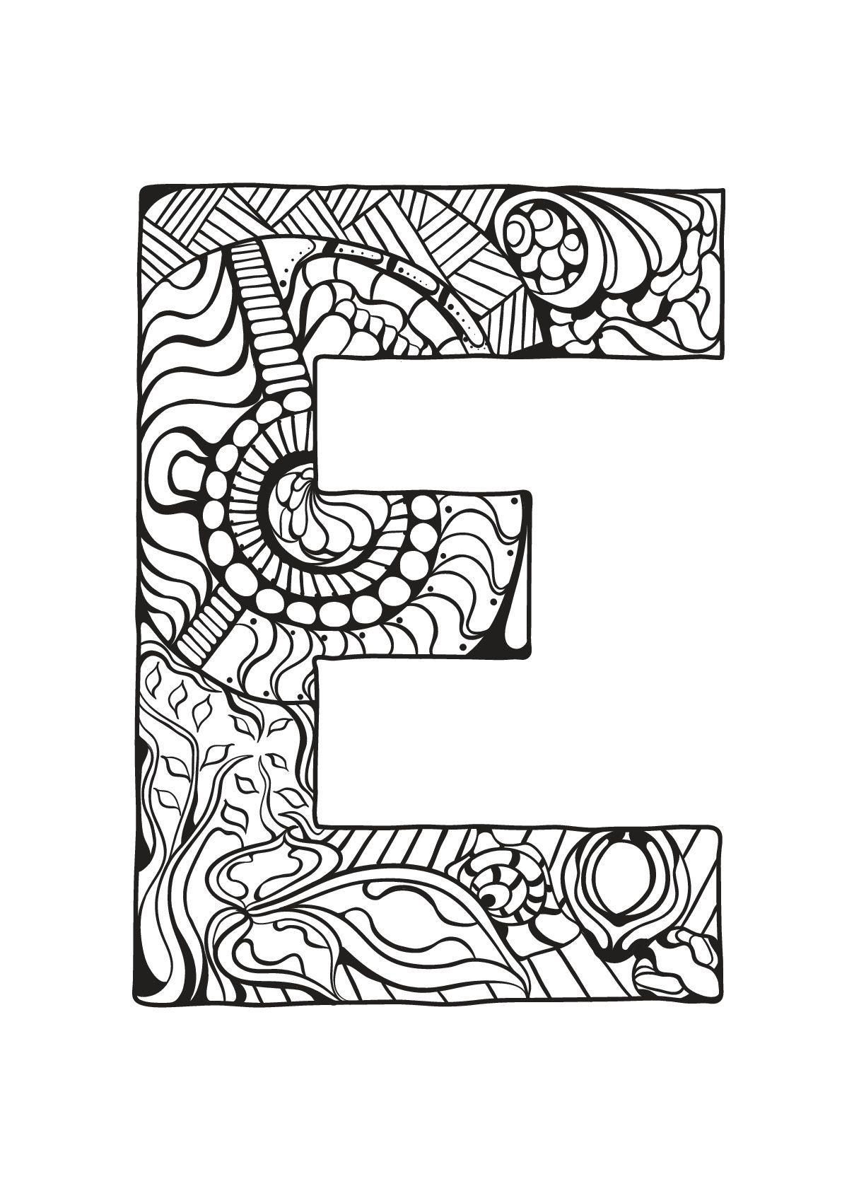 Alphabet lettre e - Alphabet lettre e. A partir de la galerie