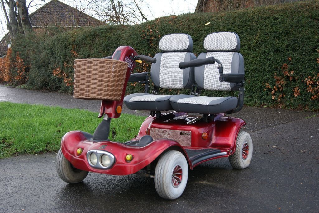 EXTREMELY RARE Shoprider Gemini Two Seater Electric
