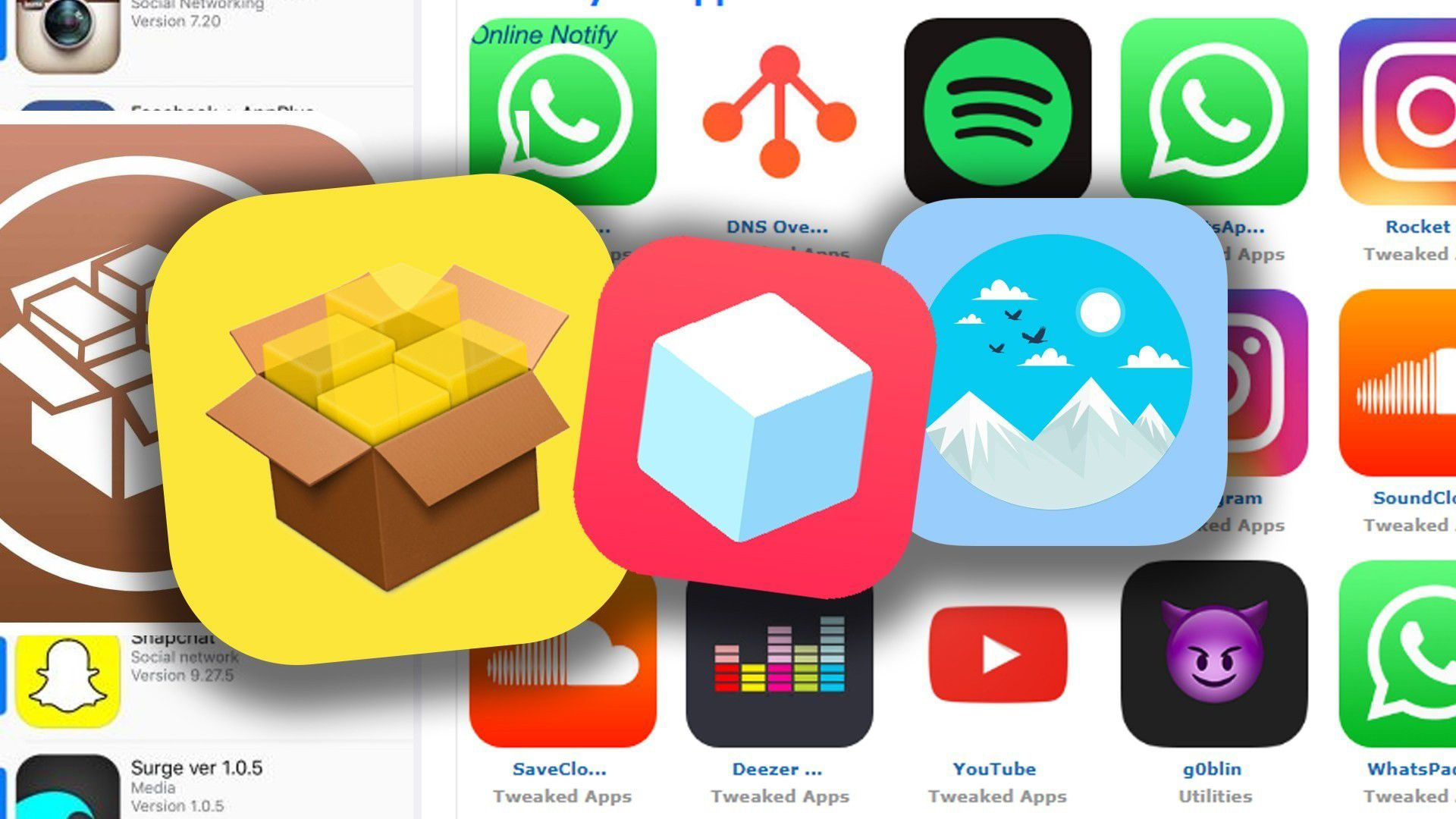 Cydia is the best third party application store that