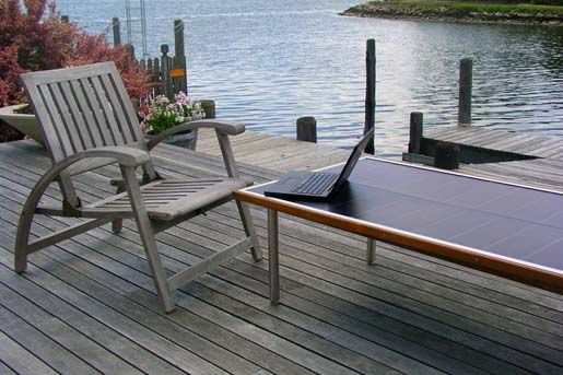 Solar Panel Table