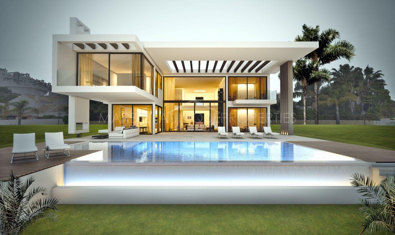 Moderna Villa A Estrenar En Primera Linea De Golf En La Reserva De
