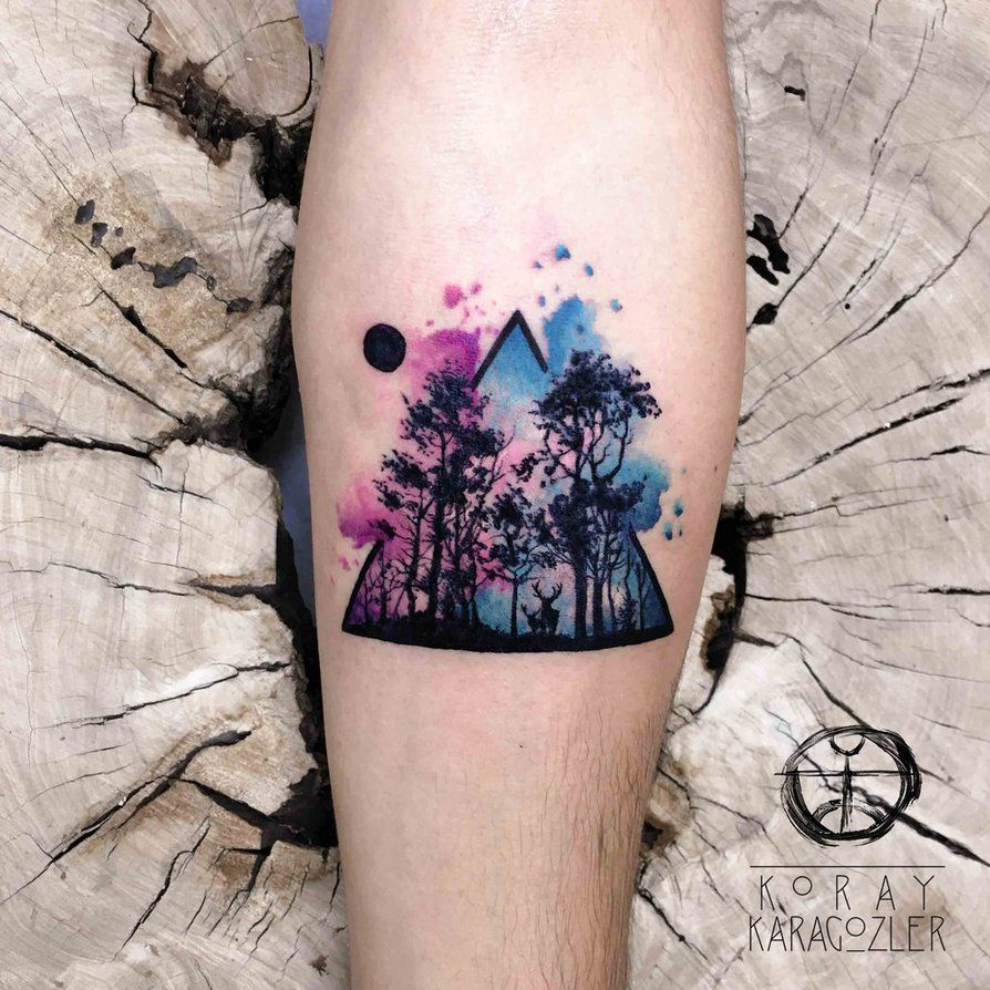 Deep Forest by koraykaragozler.deviantart.com on @DeviantArt ... - Tattoo Trends 2018
