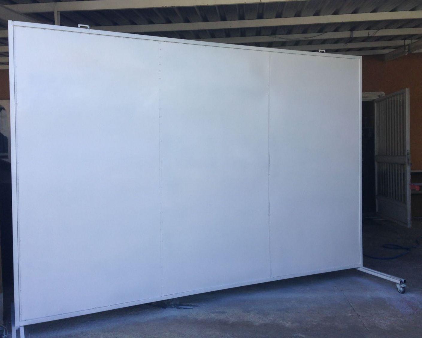 Panel separador de espacios o biombo para separar ambientes en tu almac n taller estudio Separador de espacios