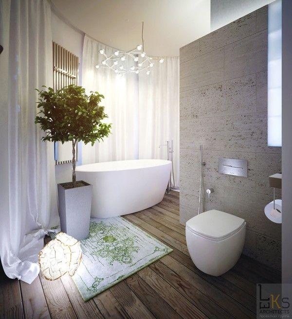 Leks Architects Kiev Apartment Bathroom