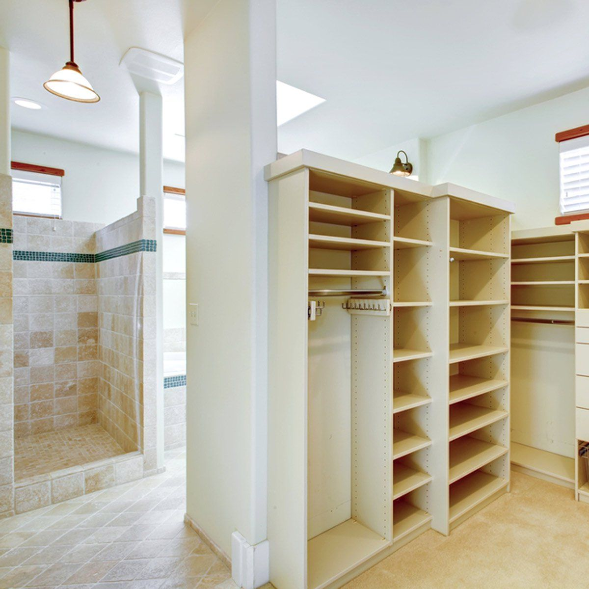 12 Walk-In Closets to Die For | Custom closet shelving ...