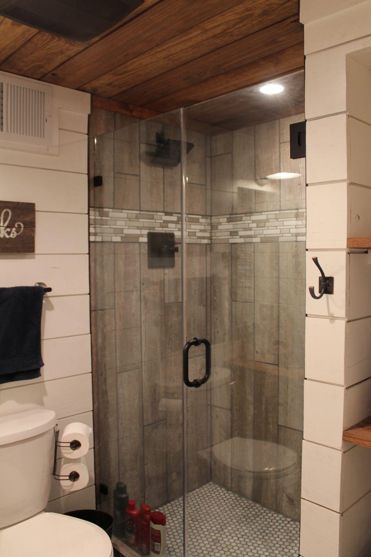Barnwood Tile Shower Google Search Wood Tile Shower