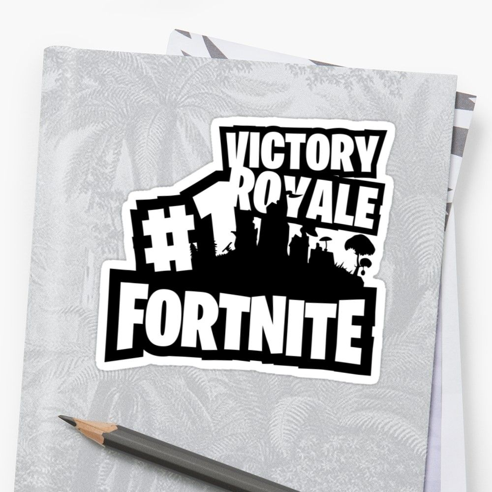 Victory Royale 1 Fortnite Sticker victory victoryroyale