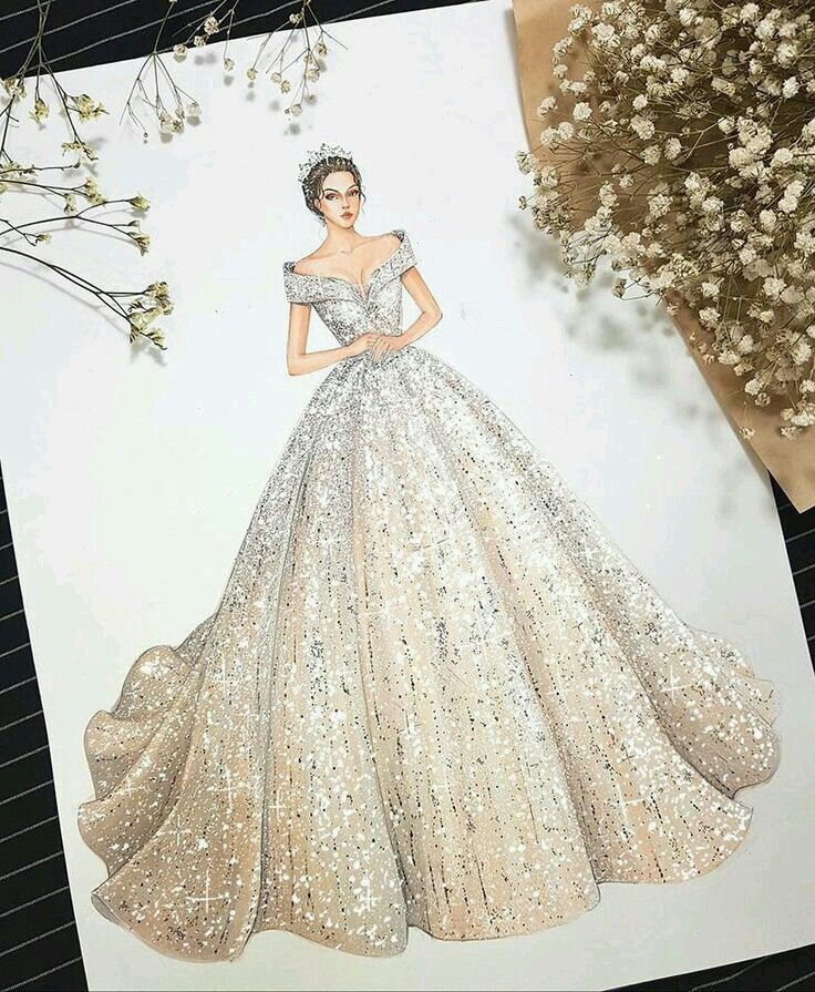Pin By Memo On Beautiful Dressed Dress Design Sketches Fashion Illustration Dresses Dress Design Drawing