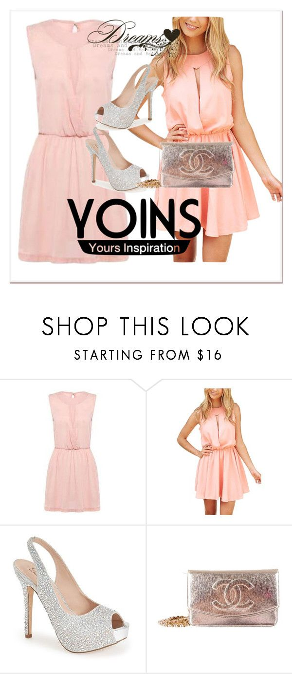 """""""dress"""" by woman-1979 ❤ liked on Polyvore featuring Lauren Lorraine, Chanel, women's clothing, women, female, woman, misses and juniors"""