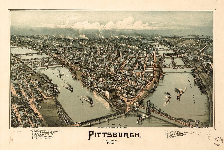 Pittsburgh, PA 1902
