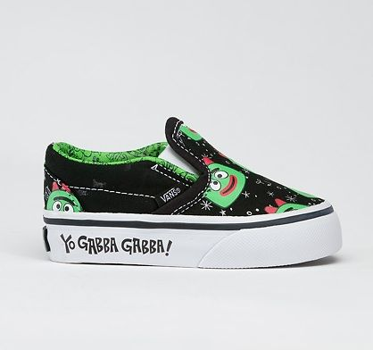 Yo Gabba Gabba Shoes by Vans