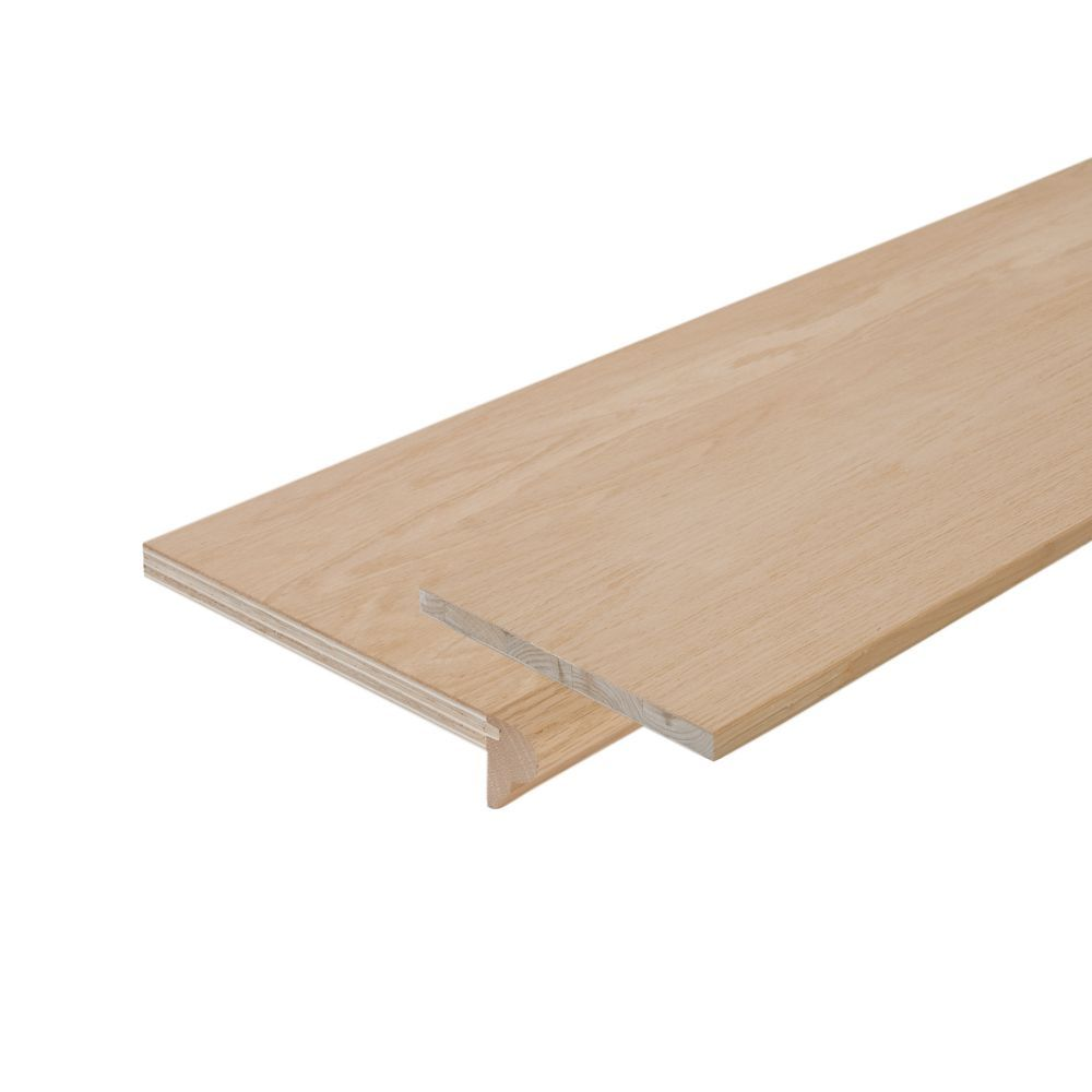 Best Oak Stair Tread Cap And Riser Kit 10 1 8 In X 42 In 400 x 300