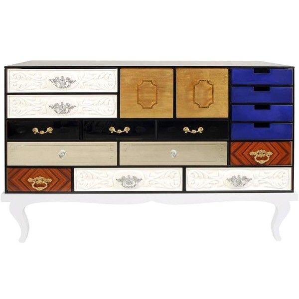 luxury wooden furniture storage. multi finishes sideboard with wooden base and glass structure u20ac29500 liked on luxury furniturecontemporary furniture storage g