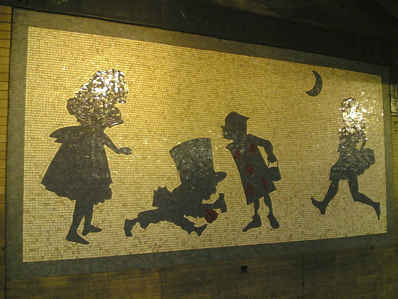 West 50th and Broadway subway art
