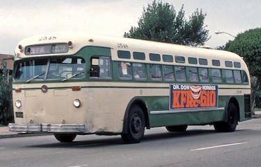 SF MUNI  Mack bus